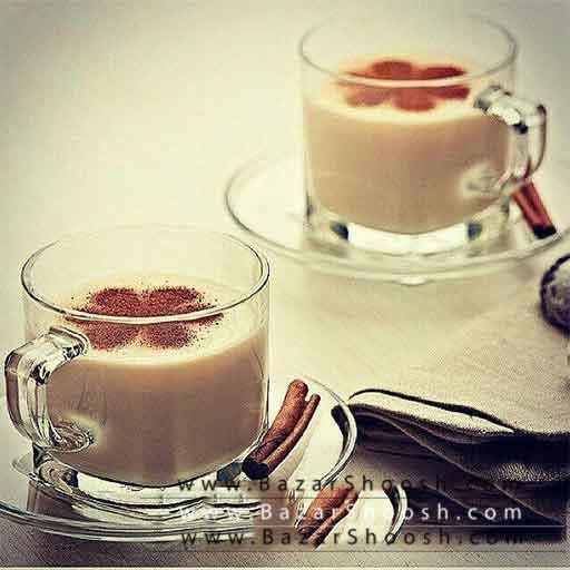 فنجان و نعلبکی بلور
