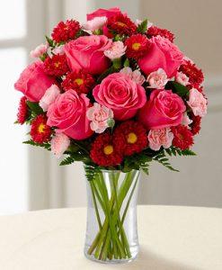 گلدان بلور