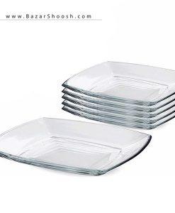 Pasabahce Tokio 54087 Plate Pack of 6