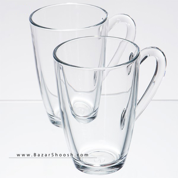 Pasabahce Aqua Mug 55393 Pack of Two