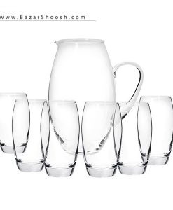 Pasabahce Barrel 93098 Glass And Jug Set