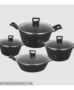 UN-8784-Unique-8PCS-Geranite-Pot-And-Pan-Cookware--Set