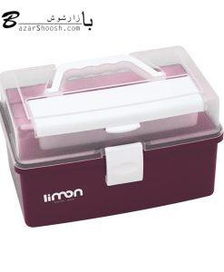 جعبه لوازم خیاطی لیمون