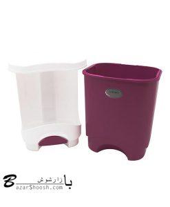 سطل زباله پدالی لیمون