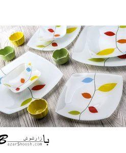 Arcofam سرویس غذا خوری 6 نفره 25 پارچه رویا