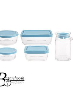 Pasabahce Polar Set Container 5pcs