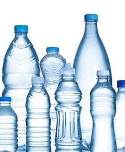بانکه نگهدارنده و بطری پلاستیکی