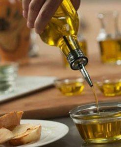 ظرف روغن و آبلیمو استیل
