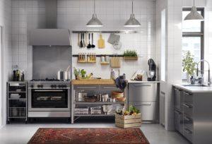 تصویری از یک آشپزخانه نو برای عروس