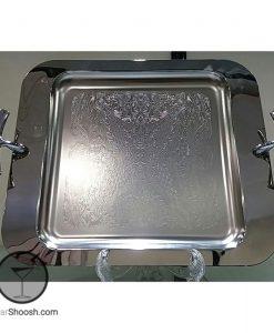 سینی استیل با قالب مربعی شکل و برند داریک مدل 306