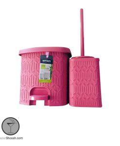 سطل و فرچه مدل بامبو لیمون