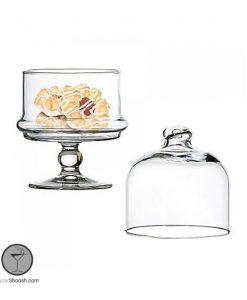 ظرف عسل خوری کوچک پاشاباغچه پایه دار