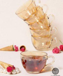 فنجان تک عسلی پاشاباغچه مدل بیسیک