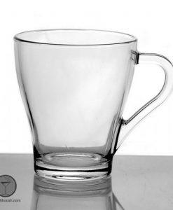 لیوان دسته دار شلغمی فرانسه