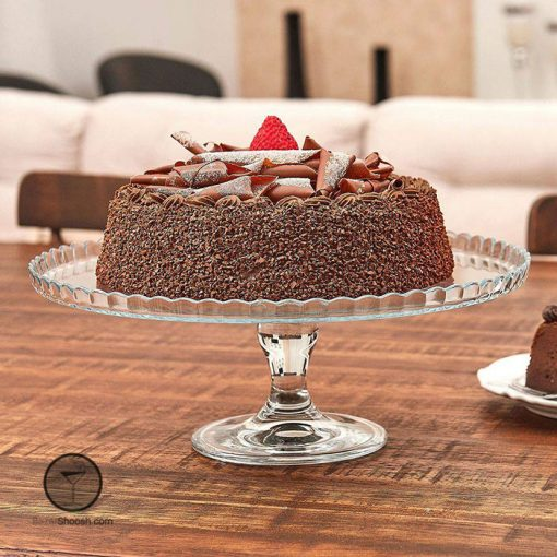 کیک خوری پایه دار بدون درب پاشاباغچه کد 95117