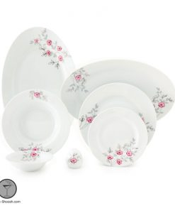سرویس چینی 28 پارچه گل پامچال