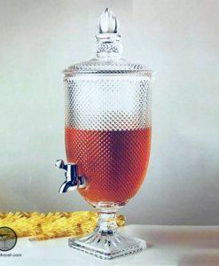 کلمن شیشه ای 3 لیتری پاشاسازه طرح یک