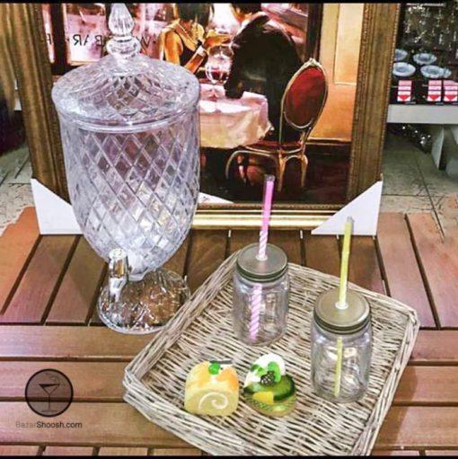 گلمن شیشه ای پاشاسازه لوزی