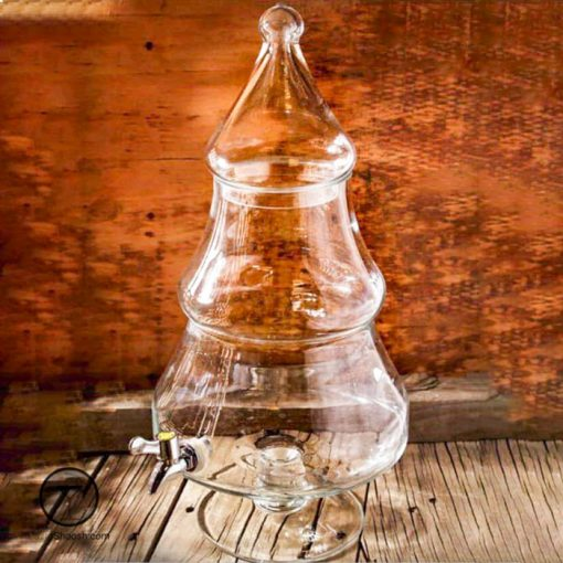 کلمن شیشه ای پاشاسازه کاجی
