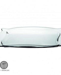 سینی شیشه ای قدیمی پاشاباغچه
