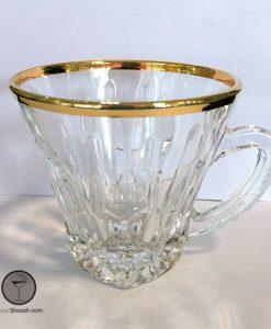 فنجان آدریا لب طلایی