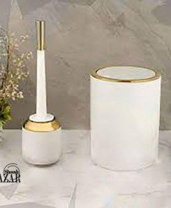 سطل و فرچه دو جداره مدل رومانتیک لیمون