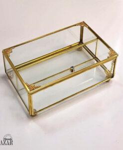جعبه شیشه ای پذیرایی
