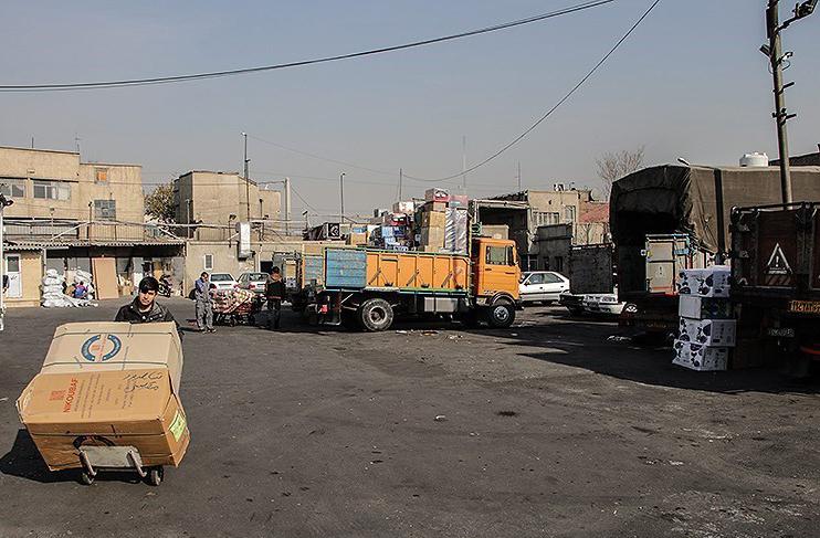 لیست باربری های بازار شوش تهران