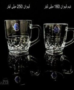 لیوان دسته دار سنسی ایرانی