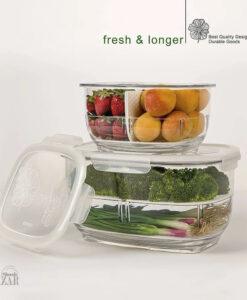 ظرف نگهدارنده میوه و سبزیجات لیمون